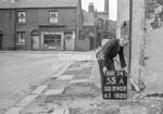 SD790755A, Ordnance Survey Revision Point photograph in Greater Manchester