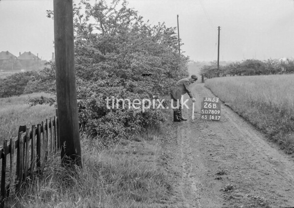 SD780926B, Ordnance Survey Revision Point photograph in Greater Manchester