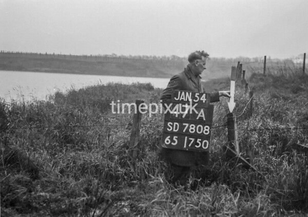 SD780847A, Ordnance Survey Revision Point photograph in Greater Manchester