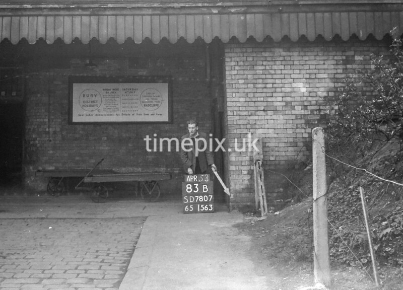 SD780783B, Ordnance Survey Revision Point photograph in Greater Manchester