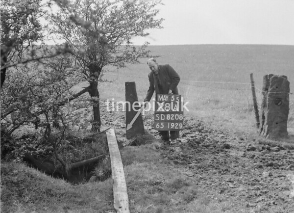 SD820828A, Ordnance Survey Revision Point photograph in Greater Manchester