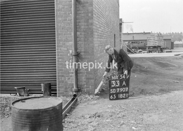 SD790733A, Ordnance Survey Revision Point photograph in Greater Manchester