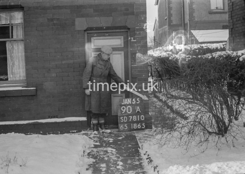 SD781090A, Ordnance Survey Revision Point photograph in Greater Manchester