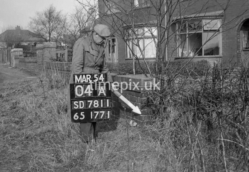 SD781104A, Ordnance Survey Revision Point photograph in Greater Manchester
