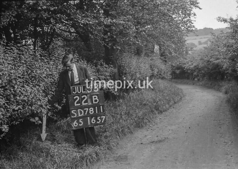 SD781122B, Ordnance Survey Revision Point photograph in Greater Manchester