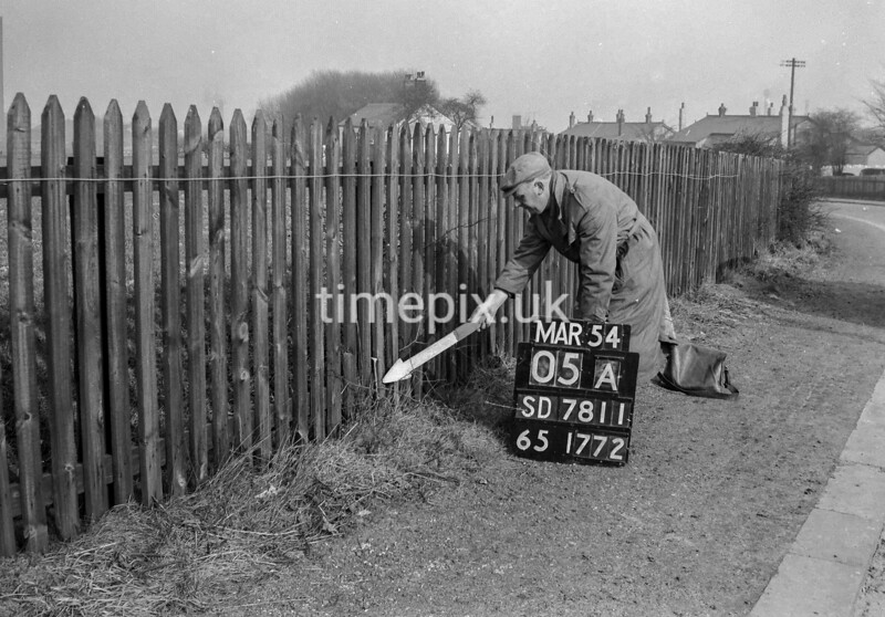 SD781105A, Ordnance Survey Revision Point photograph in Greater Manchester