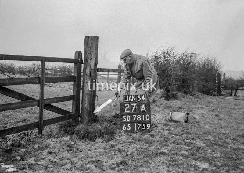 SD781027A, Ordnance Survey Revision Point photograph in Greater Manchester