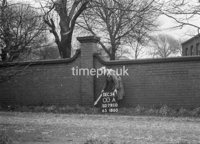 SD791000A, Ordnance Survey Revision Point photograph in Greater Manchester