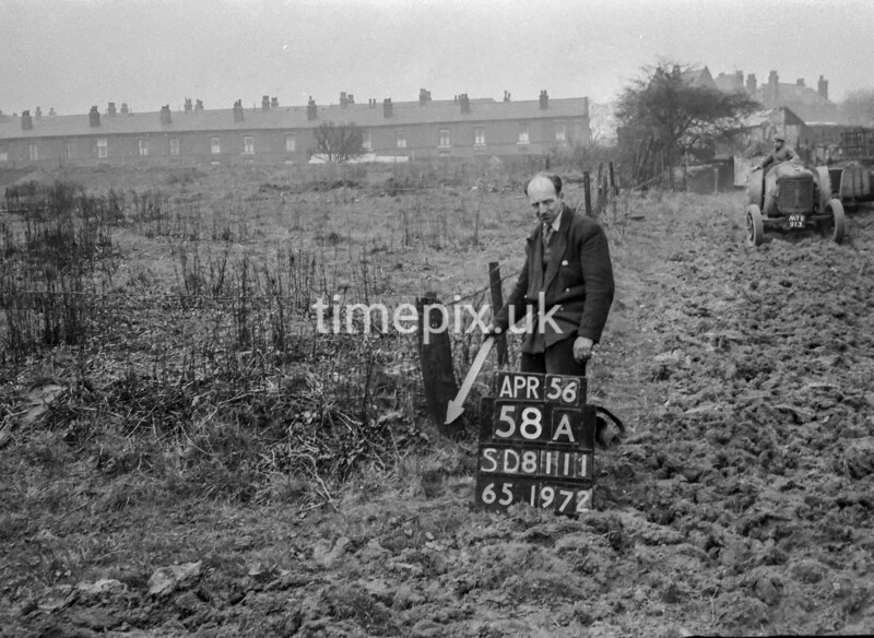 SD811158A, Ordnance Survey Revision Point photograph in Greater Manchester