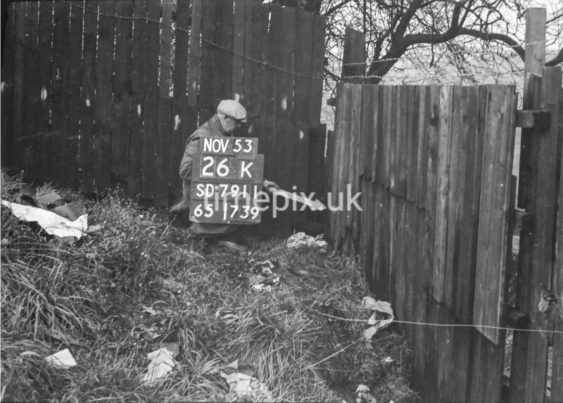 SD791126K, Ordnance Survey Revision Point photograph in Greater Manchester