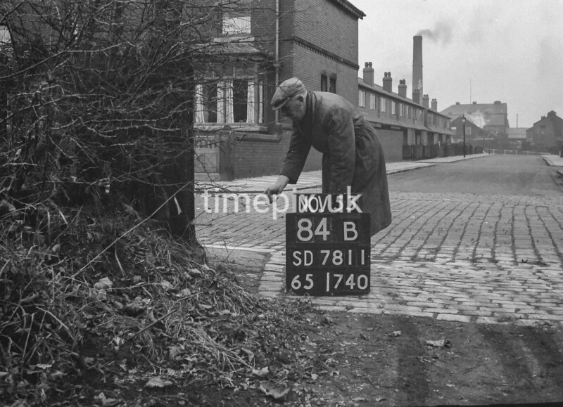 SD781184B, Ordnance Survey Revision Point photograph in Greater Manchester