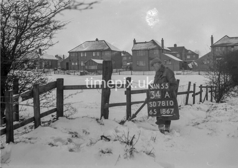 SD781034A, Ordnance Survey Revision Point photograph in Greater Manchester