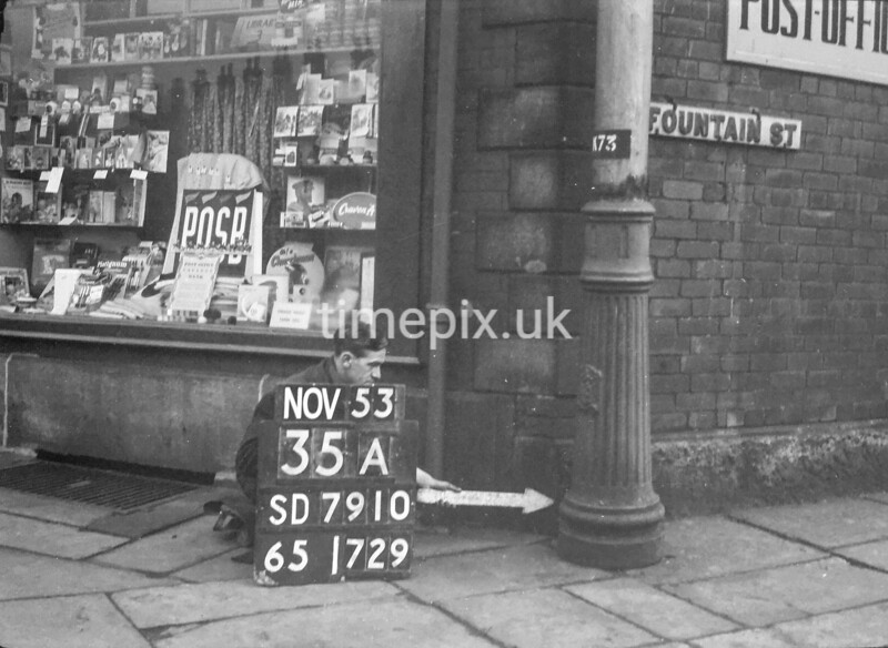 SD791035A, Ordnance Survey Revision Point photograph in Greater Manchester