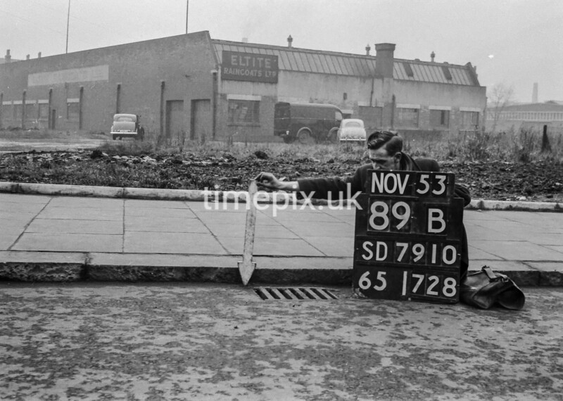SD791089B, Ordnance Survey Revision Point photograph in Greater Manchester