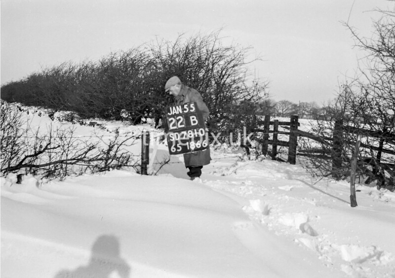 SD781022B, Ordnance Survey Revision Point photograph in Greater Manchester