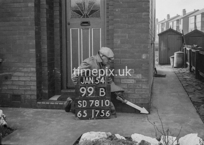 SD781099B, Ordnance Survey Revision Point photograph in Greater Manchester