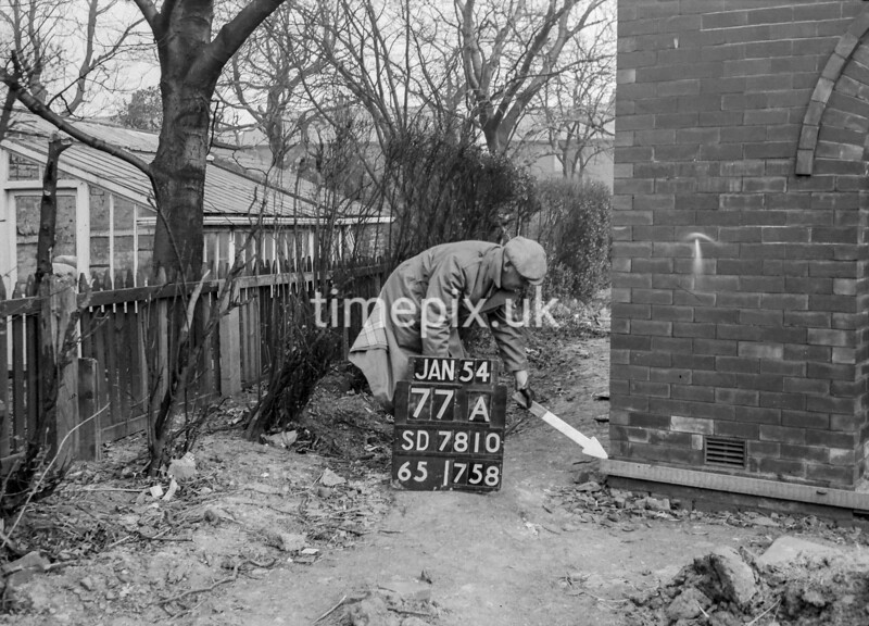SD781077A, Ordnance Survey Revision Point photograph in Greater Manchester