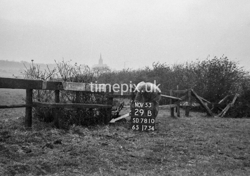 SD781029B, Ordnance Survey Revision Point photograph in Greater Manchester
