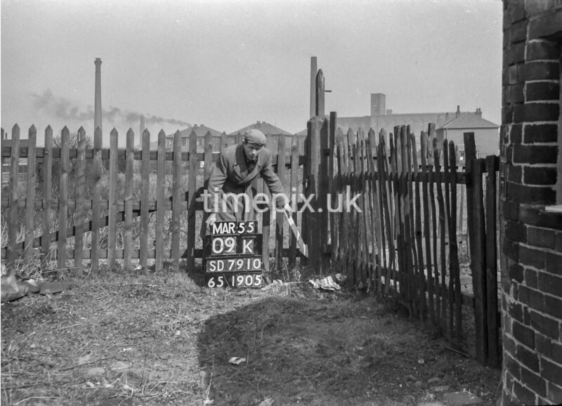 SD791009K, Ordnance Survey Revision Point photograph in Greater Manchester