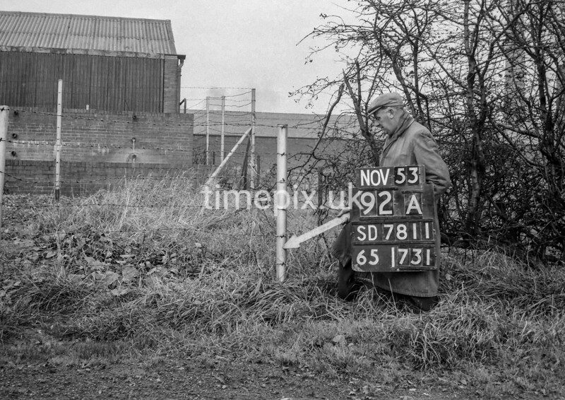 SD781192A, Ordnance Survey Revision Point photograph in Greater Manchester