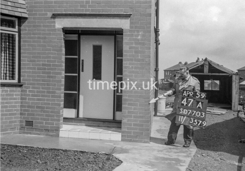 SD770347A, Ordnance Survey Revision Point photograph in Greater Manchester