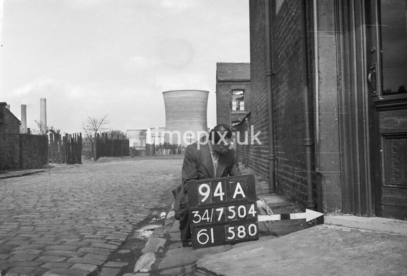 SD750494A, Ordnance Survey Revision Point photograph in Greater Manchester