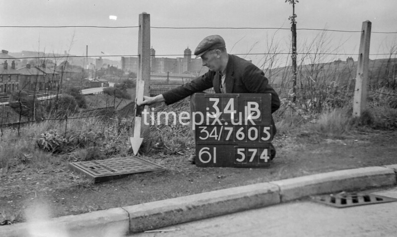 SD760534B, Ordnance Survey Revision Point photograph in Greater Manchester