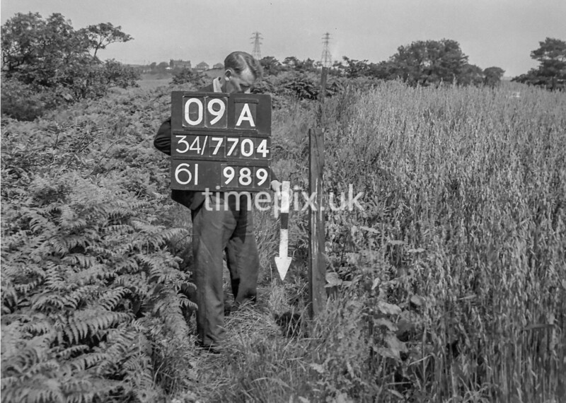 SD770409A, Ordnance Survey Revision Point photograph in Greater Manchester