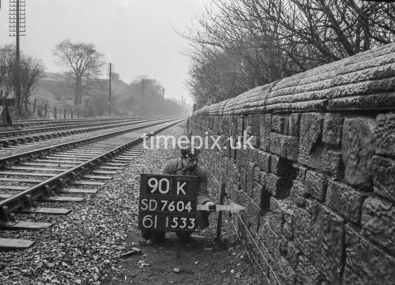 SD760490K, Ordnance Survey Revision Point photograph in Greater Manchester