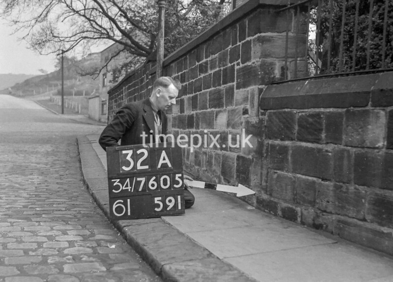 SD760532A, Ordnance Survey Revision Point photograph in Greater Manchester