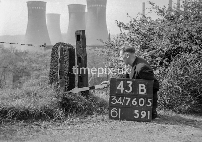 SD760543B, Ordnance Survey Revision Point photograph in Greater Manchester