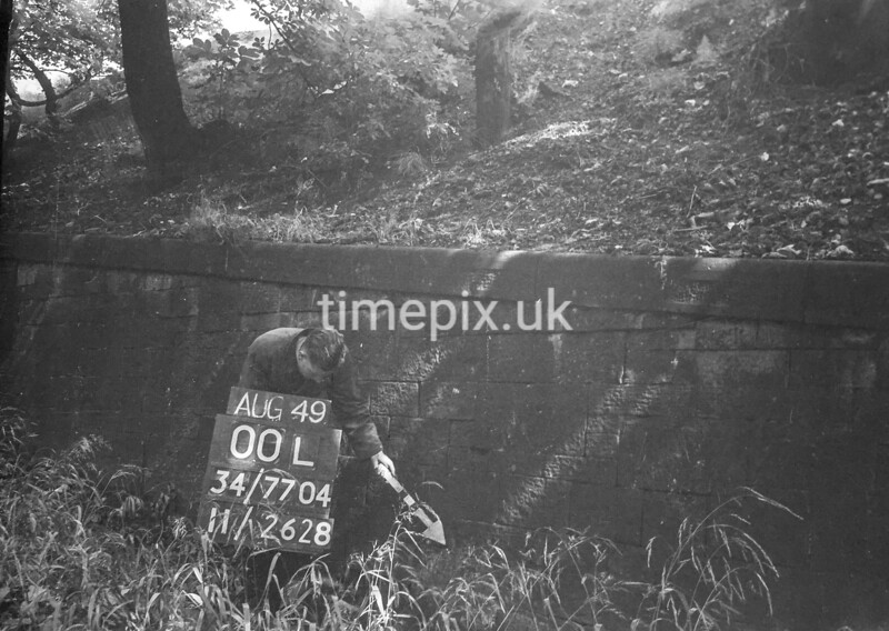SD770400L, Ordnance Survey Revision Point photograph in Greater Manchester