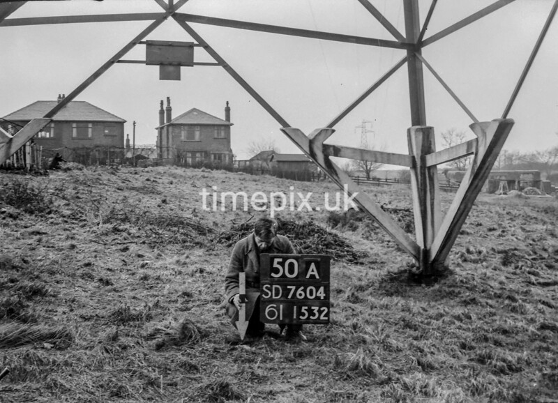 SD760450A, Ordnance Survey Revision Point photograph in Greater Manchester