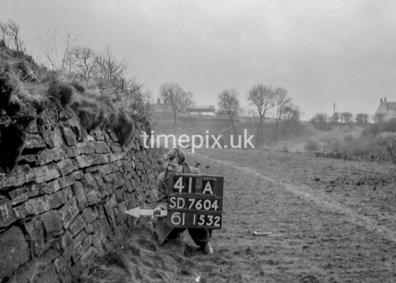 SD760441A, Ordnance Survey Revision Point photograph in Greater Manchester