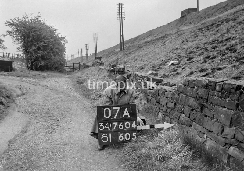 SD760407A, Ordnance Survey Revision Point photograph in Greater Manchester