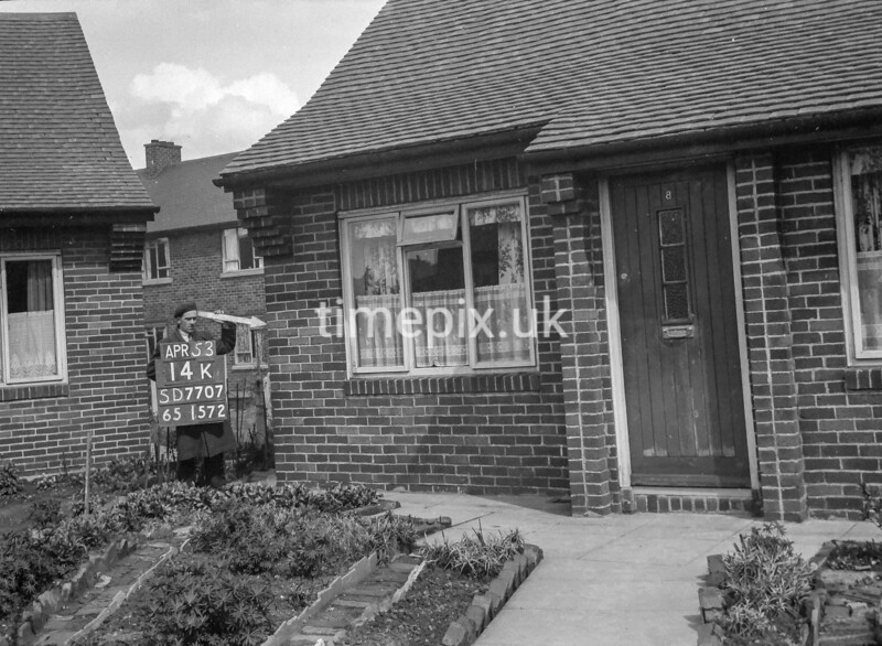 SD770714K, Ordnance Survey Revision Point photograph in Greater Manchester