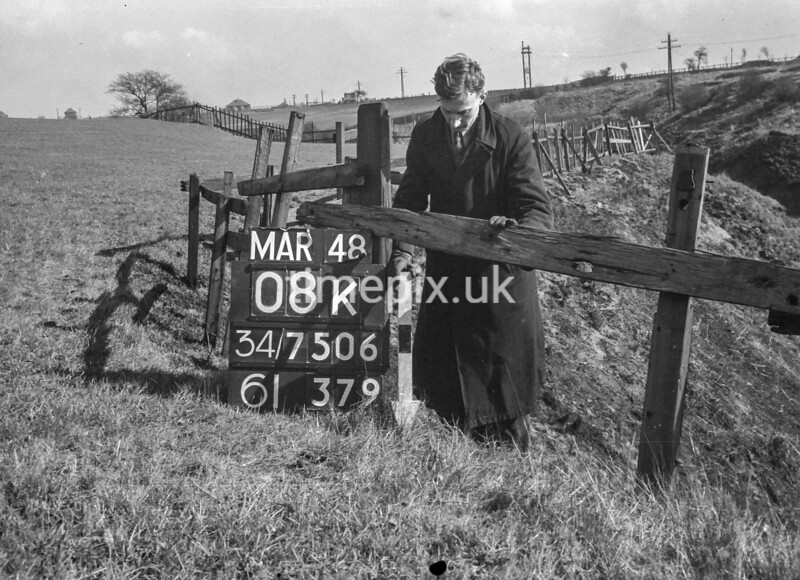 SD750608K, Ordnance Survey Revision Point photograph in Greater Manchester