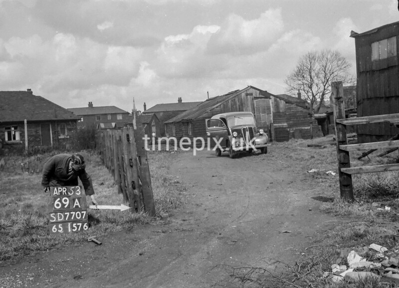 SD770769A, Ordnance Survey Revision Point photograph in Greater Manchester