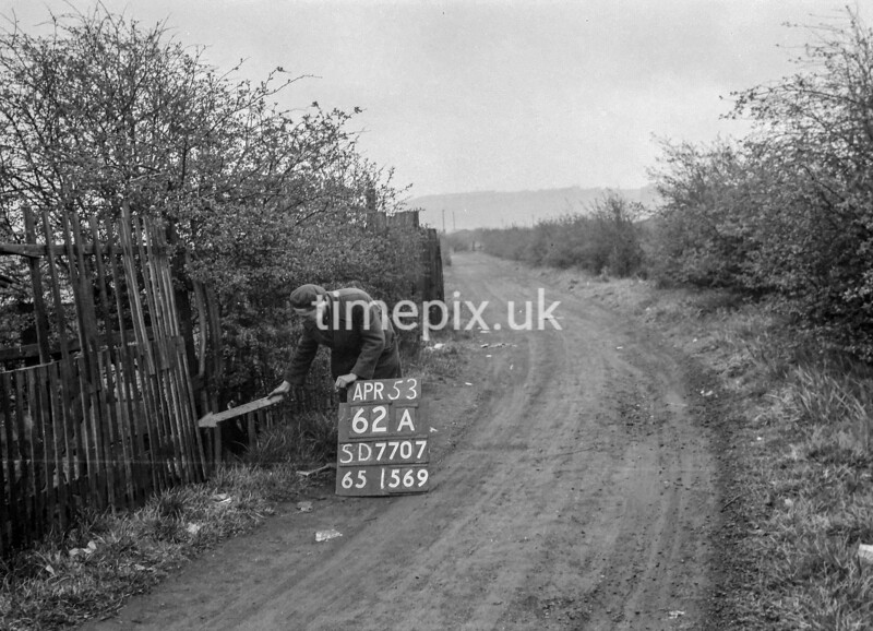 SD770762A, Ordnance Survey Revision Point photograph in Greater Manchester