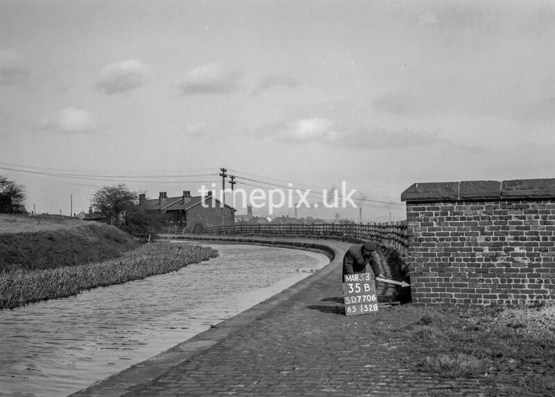 SD770635B, Ordnance Survey Revision Point photograph in Greater Manchester