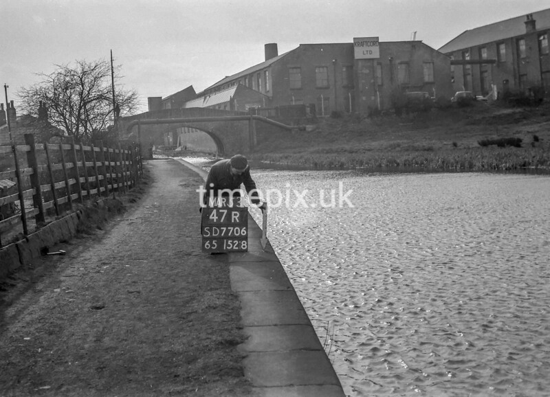 SD770647R, Ordnance Survey Revision Point photograph in Greater Manchester