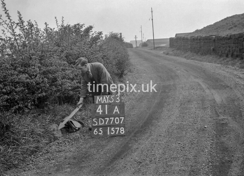 SD770741A, Ordnance Survey Revision Point photograph in Greater Manchester