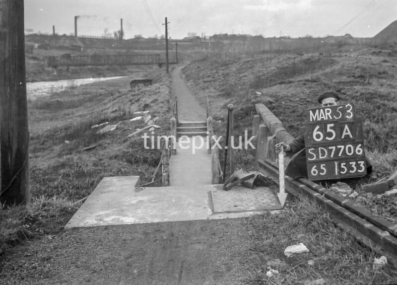 SD770665A, Ordnance Survey Revision Point photograph in Greater Manchester