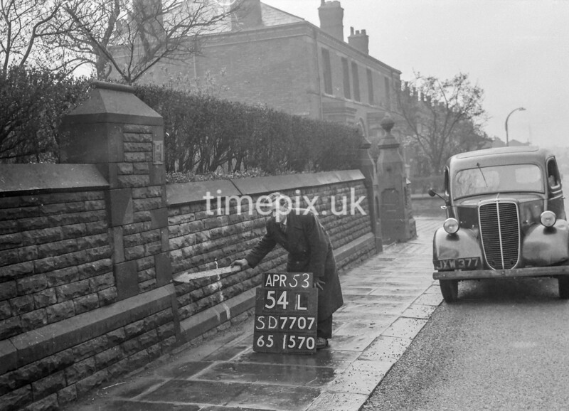 SD770754L, Ordnance Survey Revision Point photograph in Greater Manchester