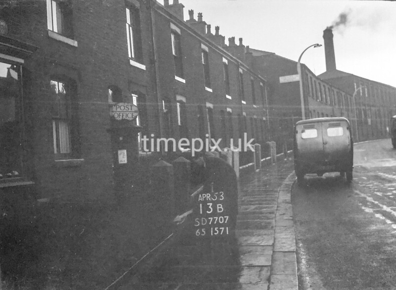 SD770713B, Ordnance Survey Revision Point photograph in Greater Manchester
