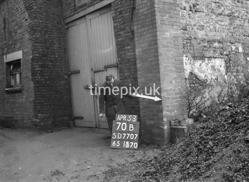 SD770770B, Ordnance Survey Revision Point photograph in Greater Manchester