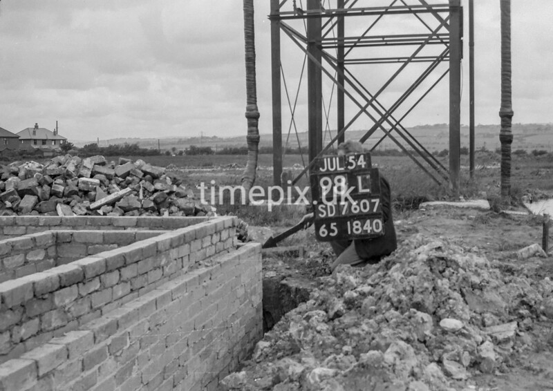 SD760798L, Ordnance Survey Revision Point photograph in Greater Manchester
