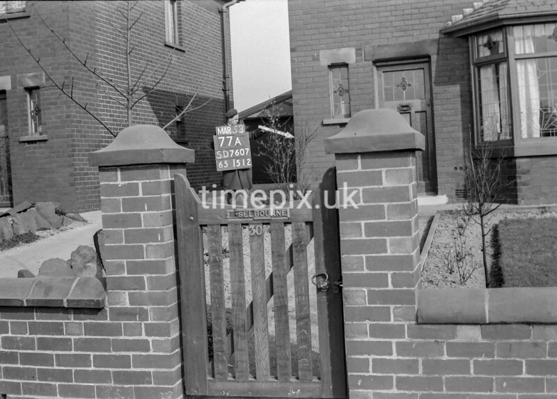 SD760777A, Ordnance Survey Revision Point photograph in Greater Manchester
