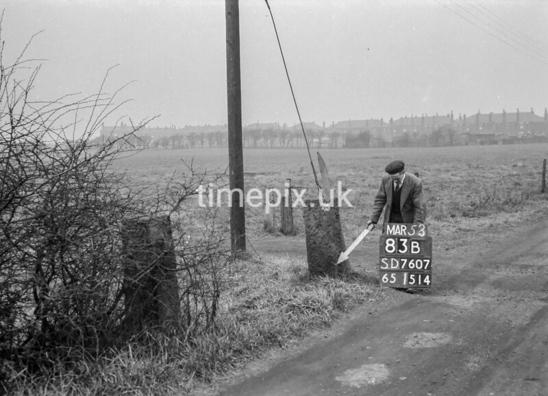 SD760783B, Ordnance Survey Revision Point photograph in Greater Manchester