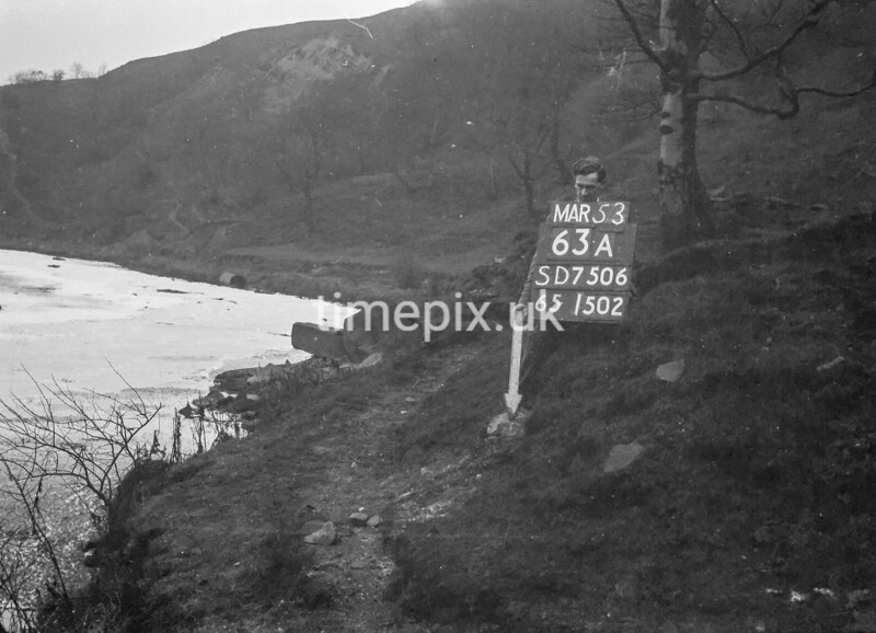 SD750663A, Ordnance Survey Revision Point photograph in Greater Manchester